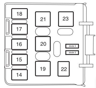 2002 Mercury Mountaineer Fuse Box : 33 Wiring Diagram