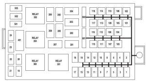 Mercury Marauder (2003  2004)  fuse box diagram  Auto Genius