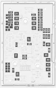 Vauxhall Antara Fuse Box Location : 33 Wiring Diagram