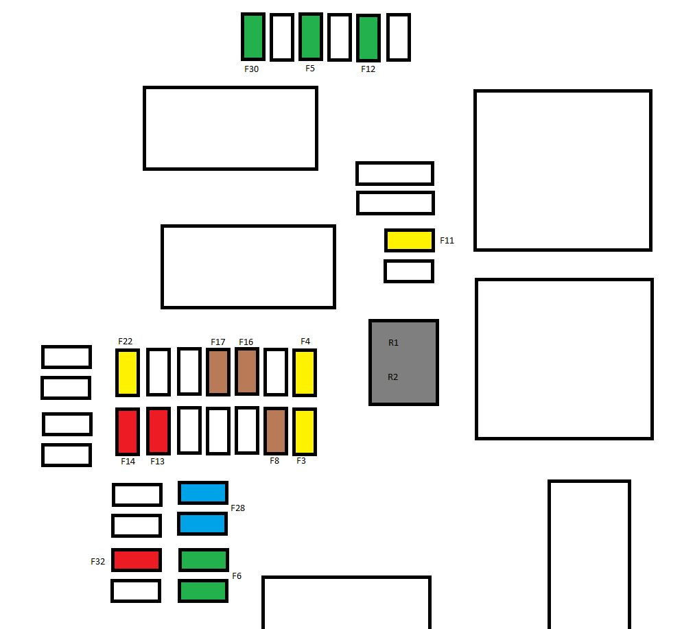 medium resolution of citroen c4 mk2 from 2011 fuse box diagram