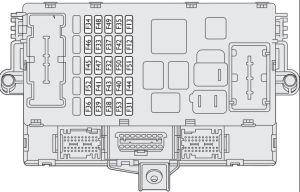 Fiat Bravo (2008  2014)  fuse box diagram  Auto Genius
