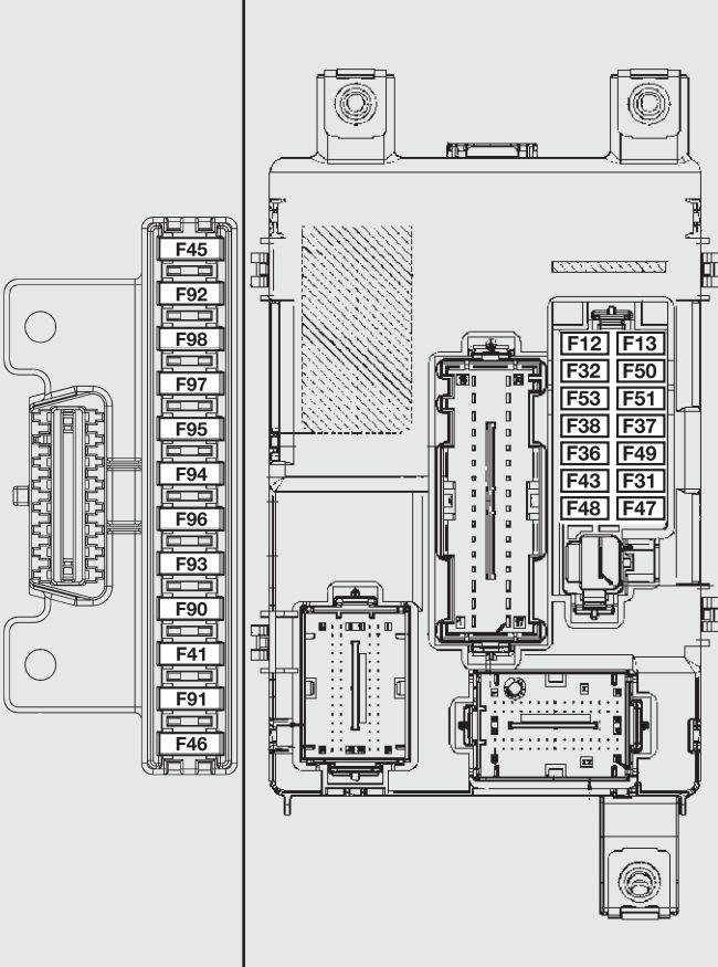 fiat coupe fuse box diagram