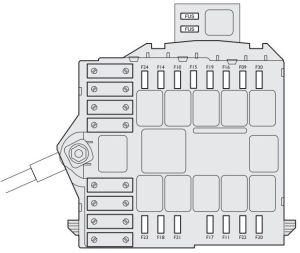 Fiat Idea (2003  2012)  fuse box diagram  Auto Genius