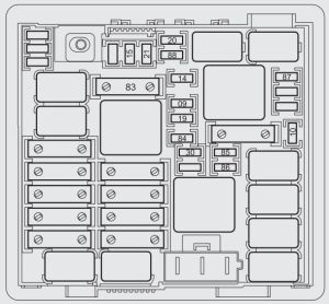 Fiat Punto (199) 2012 (from 2012)  fuse box diagram