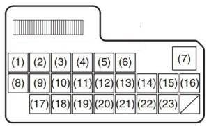 Fiat Sedici (2006  2014)  fuse box diagram  Auto Genius