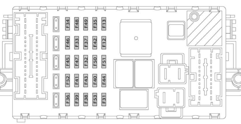 2011 Aveo Fuse Diagram Lancia Delta Mk3 2008 2014 Bezpieczniki Chemat