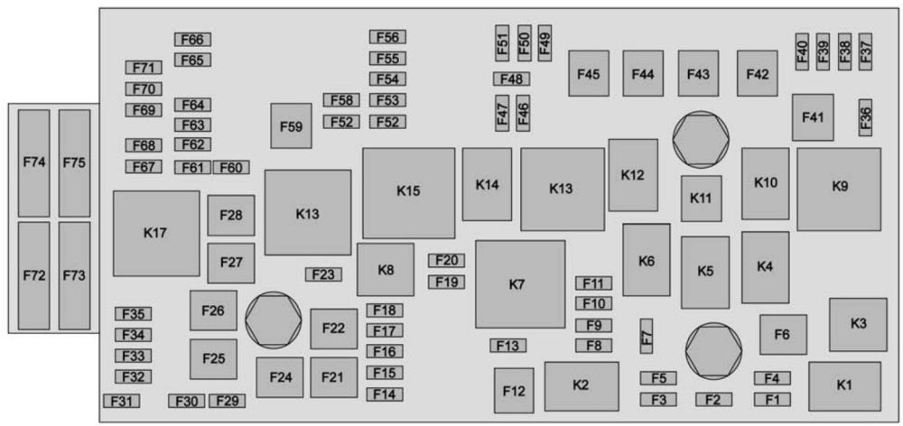 medium resolution of chevrolet colorado 2015 2016 fuse box diagram