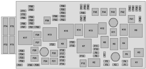 small resolution of chevrolet colorado 2015 2016 fuse box diagram
