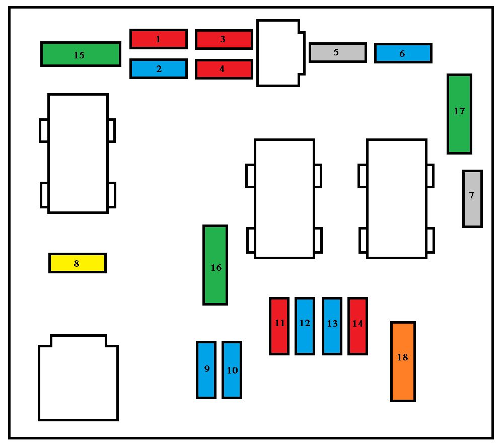 Peugeot Engine Schematics Wiring Library Acura Mdx 2010 Rear Fuse Box Diagram 206 2000 U2013 2002
