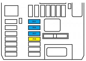 FERRARI 308 FUSE BOX - Auto Electrical Wiring Diagram on