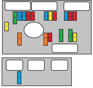 Peugeot 307 SW (2006  2008)  fuse box diagram  Auto Genius