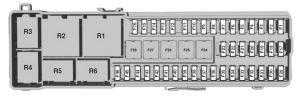 Ford CMAX HybridEnergi (from 2014)  fuse box diagram