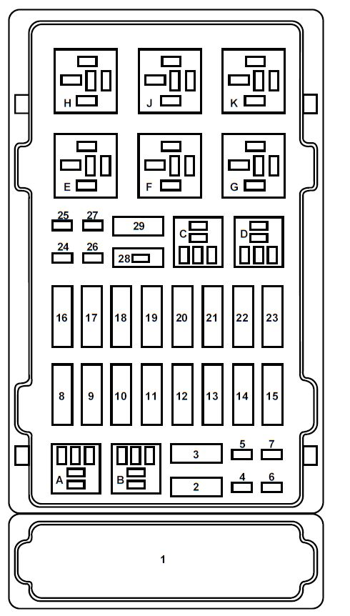 2014 ford e350 fuse box diagram
