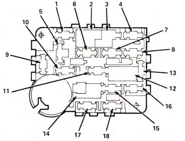 1980 Corvette Fuse Box Located • Wiring Diagram For Free