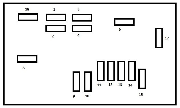 Peugeot M59 2011 2012 Fuse Box Diagram. Peugeot. Schematic