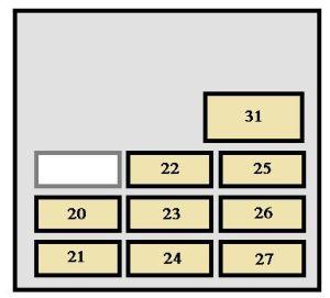 Toyota 4Runner (1998)  fuse box diagram  Auto Genius