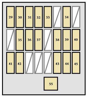 Toyota 4Runner (2004)  fuse box diagram  Auto Genius