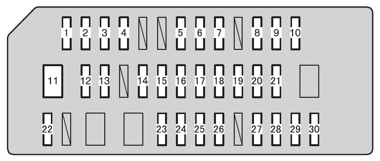 Toyota 4runner Fuse Box Diagram : 31 Wiring Diagram Images