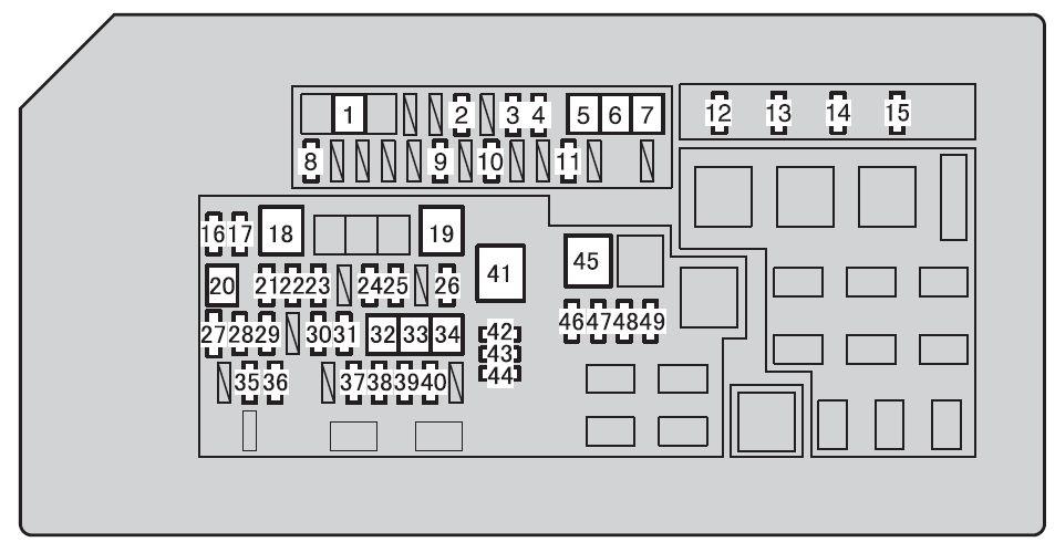 fx35 fuse box diagram