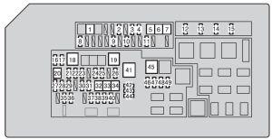 Toyota 4Runner (from 2013)  fuse box diagram  Auto Genius