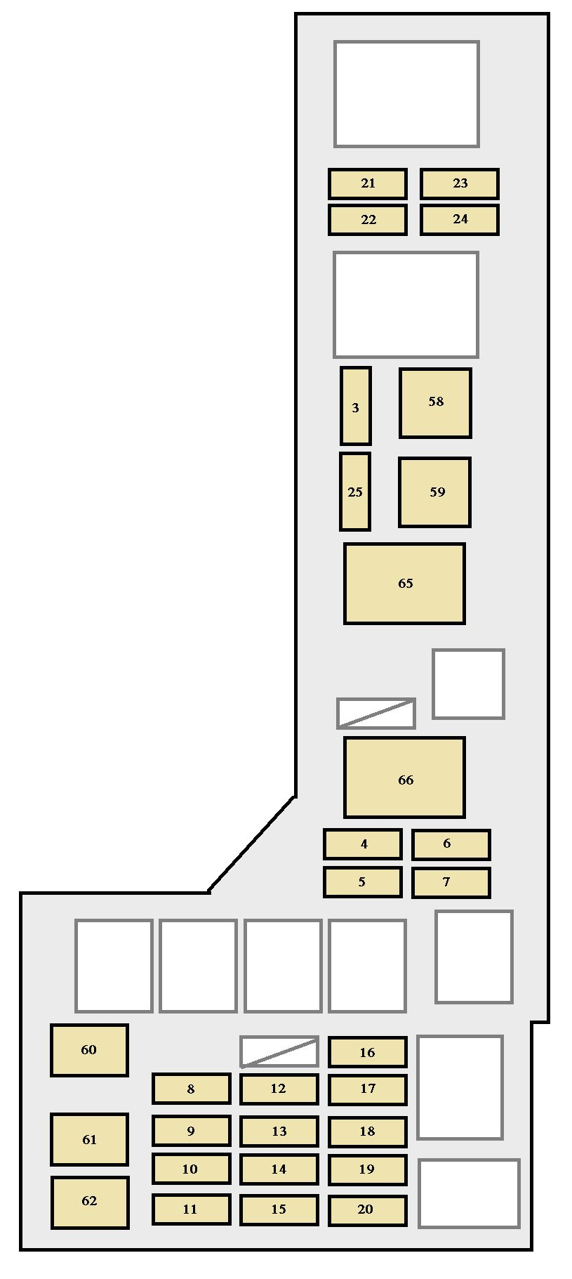 medium resolution of toyota avalon 2000 2002 fuse box diagram