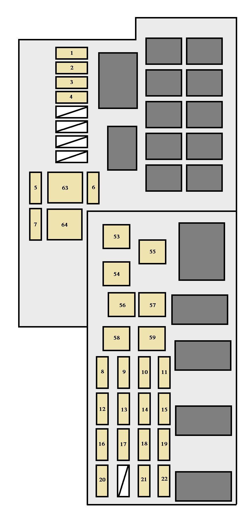 Lexus Rx330 Fuse Box Diagram Interior Also 2001 Lexus Rx300 Fuse Box