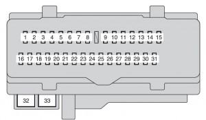 Toyota Camry (2010  2011)  fuse box diagram  Auto Genius