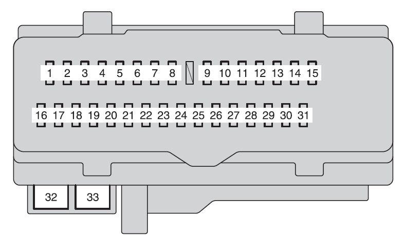 toyota van fuse box diagram wiring schematic diagram - e500 fuse box