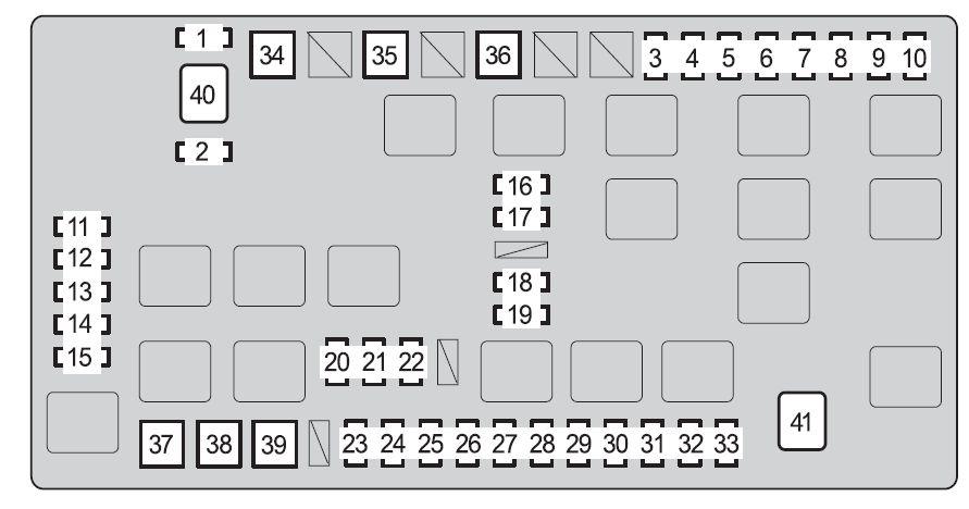 2011 fj cruiser fuse box diagram