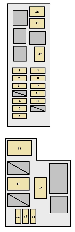 blank foot diagram 2003 dodge ram speaker wiring hand car free for you toyota celica 1993 1999 fuse box auto genius