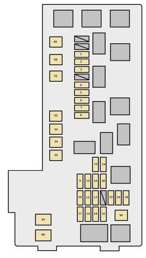 [WRG1669] Toyota Highlander Ac Fuse Diagram