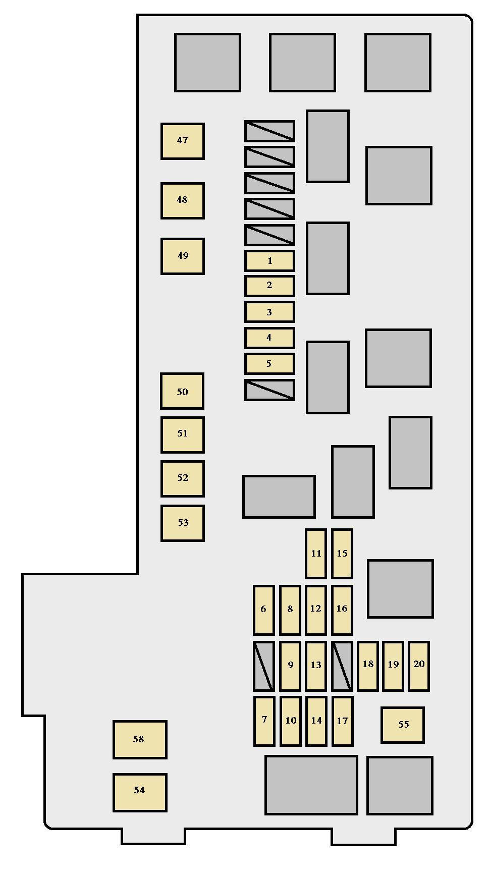 toyota hiace wiring diagram 1998 ford expedition stereo 2002 highlander fuse all data xu20 2000 2003 box auto genius pontiac grand prix