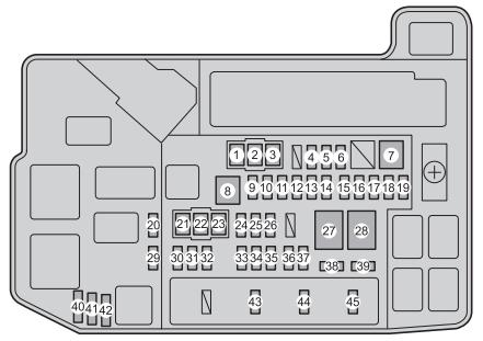 11 Ford Fusion Fuse Box Diagram Toyota Prius Plug In Hybrid 2011 2015 Fuse Box