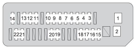 5 Wire Relay Wiring Diagram For Door Lock Toyota Prius Xw20 2008 2009 Fuse Box Diagram Auto