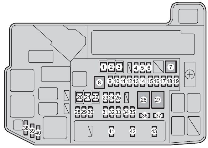 Fuse Box Toyota Prius V From 2013 Fuse Box Diagram Auto Genius