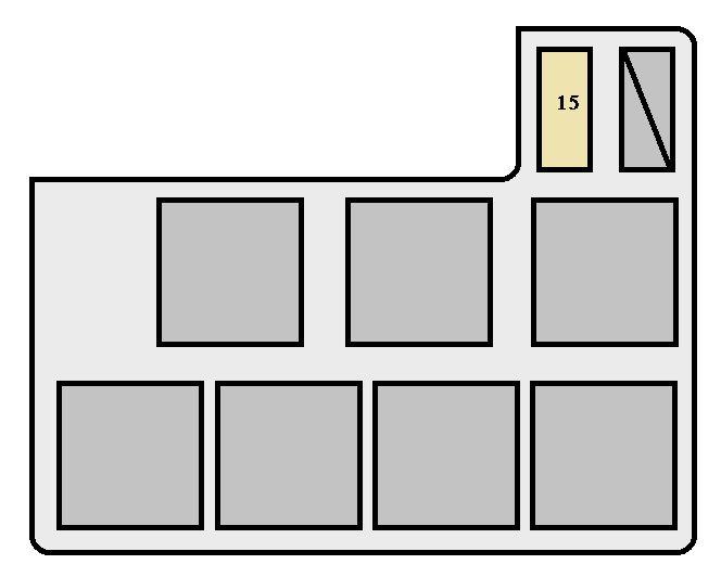 1996 Toyota Rav4 Fuse Box Diagram | ndforesight.co on