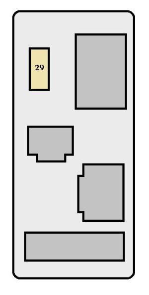Toyota RAV4 (XA10; 1998  1999)  fuse box diagram  Auto