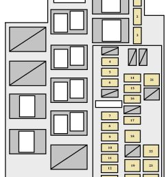 toyota rav4 xa30 2005 2008 fuse box diagram auto genius rh autogenius info toyota pickup fuse box diagram 2007 toyota camry fuse box diagram [ 965 x 1225 Pixel ]