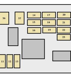 toyota sequoia 2003 2004 fuse box diagram [ 1416 x 598 Pixel ]