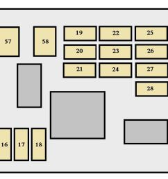 toyota sequoia 2007 fuse box diagram [ 1414 x 590 Pixel ]