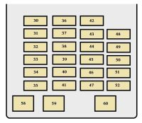 Toyota Sequoia (2003 - 2004) - fuse box diagram - Auto Genius