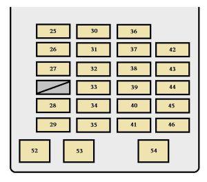 Toyota Sequoia (2001  2002)  fuse box diagram  Auto Genius