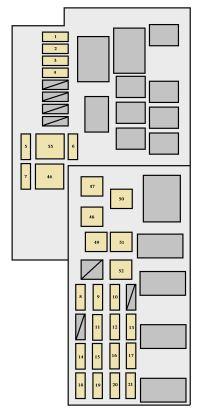 2005 Toyota Fuse Box Diagram | Manual e-books