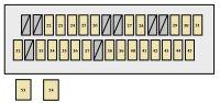 2000 Toyota Solara Fuse Box Diagram  Wiring Diagram For Free