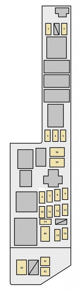 1999 toyota solara fuse diagram