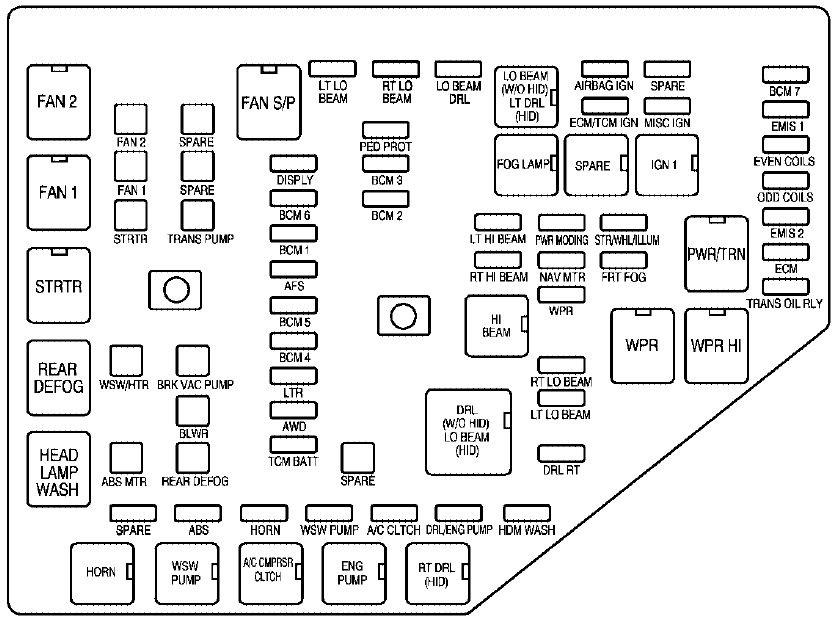 Scion Xb Ac Wiring Diagram Cadillac Cts 2008 Fuse Box Diagram Auto Genius