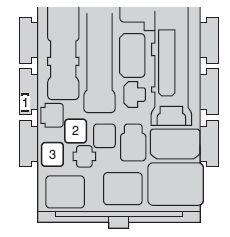 Scion xD (2010  2014)  fuse box diagram  Auto Genius