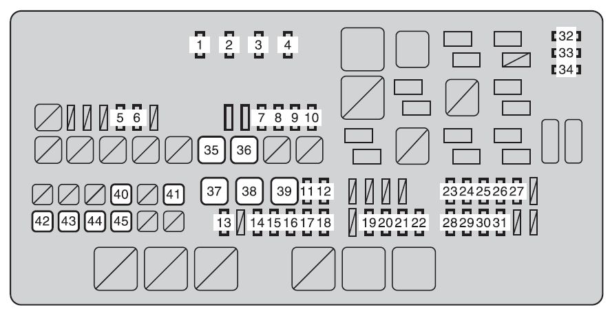 2003 Toyota Tundra Fuse Box Diagram Pictures to Pin on