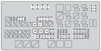 Toyota Tundra (2010) - fuse box diagram - Auto Genius
