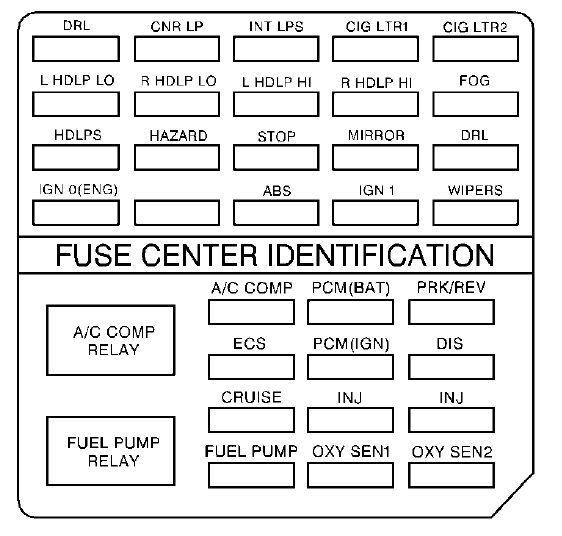 1994 Camry Headlamp Wiring Diagram Cadillac Deville 1999 Fuse Box Diagram Auto Genius